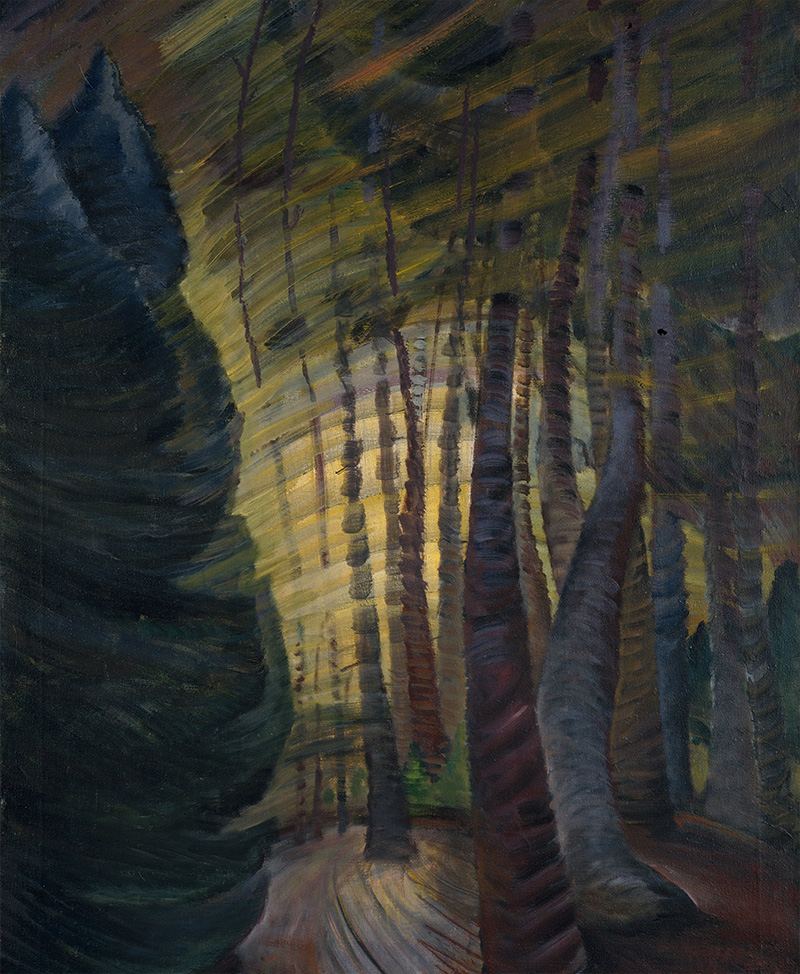Emily Carr - Sombreness Sunlit